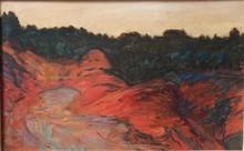 René SEYSSAUD - Painting - Paysage