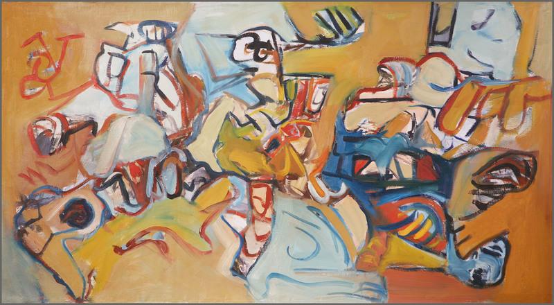 Henri CHARIOT - Peinture - sans titre