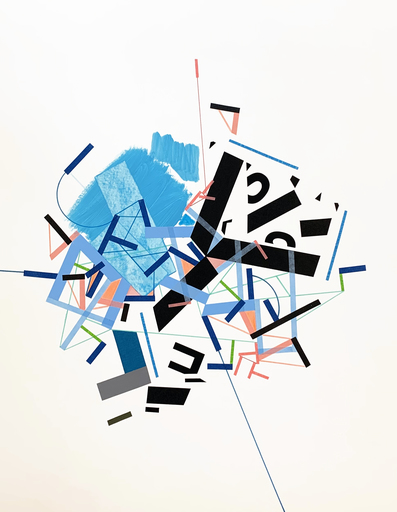 Philippe HALABURDA - Painting - Dive Icehhi 6