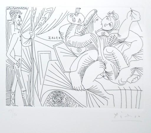 Pablo PICASSO - Print-Multiple - Seires 347, Bloch 1797