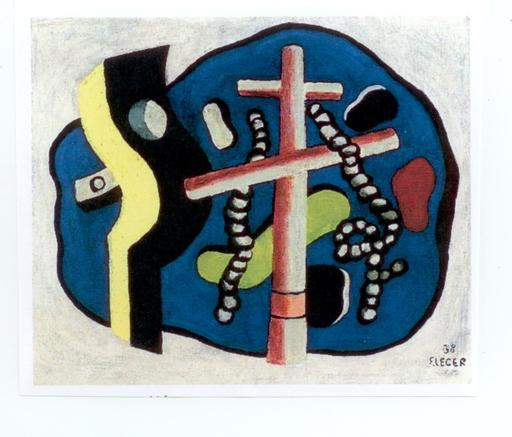 Fernand LÉGER - Painting - Nature morte aux cordages