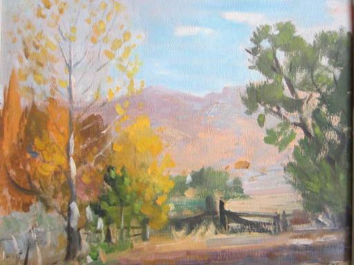 Leonard SCHEU - Painting - October