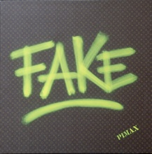 PIMAX - Painting - Fake (Monogramme marron), 2014