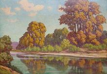Francisco LLORENS DÍAZ - Pintura - paisaje