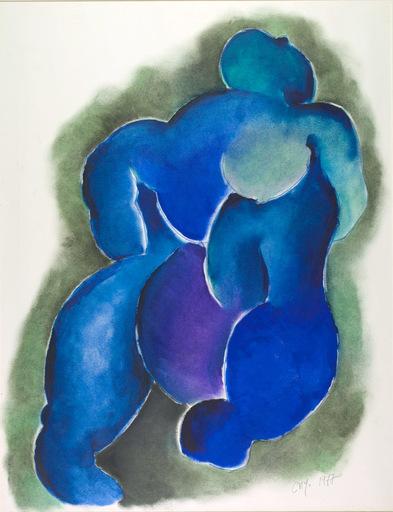 Daniel François CAYO - Peinture - Maternité 3