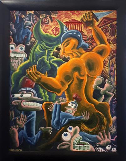 Hervé DI ROSA - Gemälde - Centaure