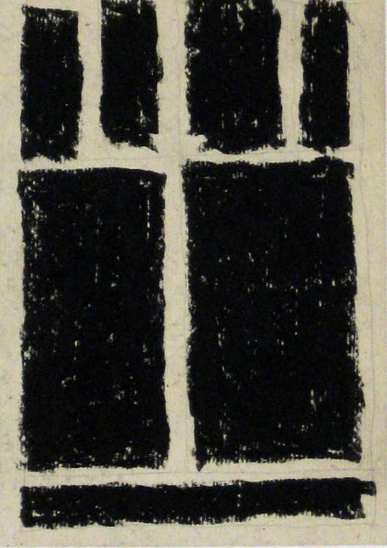 """Aurélie NEMOURS - Drawing-Watercolor - A 05 """"Re Rom 387 A"""""""