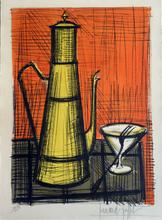 Bernard BUFFET (1928-1999) - LA CAFETIERE