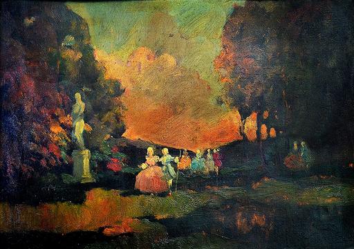 Mario CAPUZZO - Peinture - Senza titolo