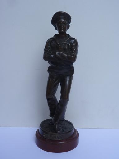 Jean GARNIER - 雕塑 - Marin Dansant ou La Gigue