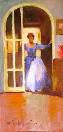 Joan GIRALT LERIN - Painting - The Welcoming Entrance