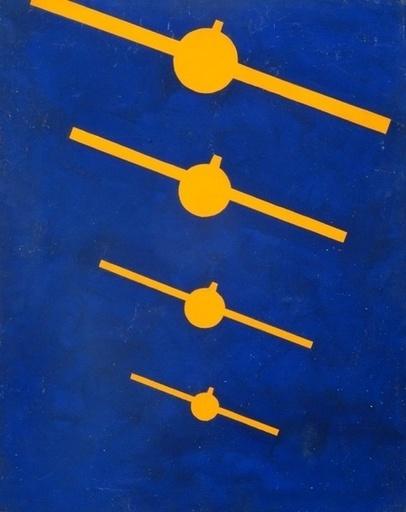 Boris Nikolajevitch BITCH - Painting - Composition nr.7