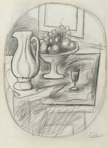 Pot Et Compotier Avec Fruits By Pablo Picasso Buy Art Online