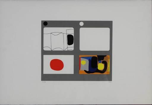 Alberto BURRI - Grabado - Lettere - F