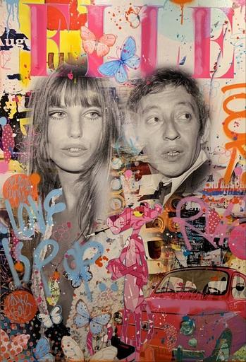Fabien NOVARINO - Peinture - Love is Pop