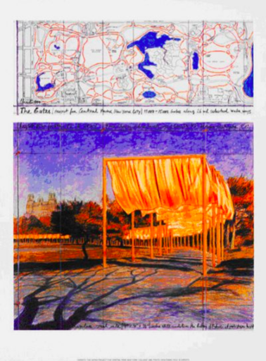 CHRISTO - Estampe-Multiple - The Gates (i)