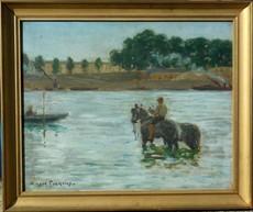 Horace Raoul COLMAIRE - 绘画