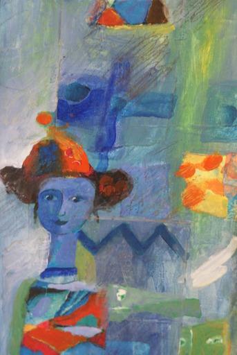"""Yoel BENHARROUCHE - Painting - """"Deguisement ou révelations des secrets"""""""