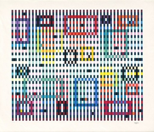 Yaacov AGAM - Stampa-Multiplo - Magic Raindrops II