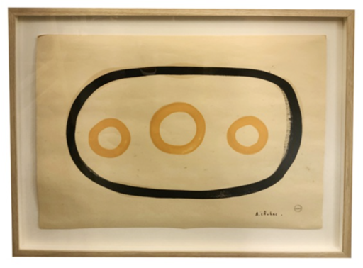 Albert CHUBAC - Disegno Acquarello - N184
