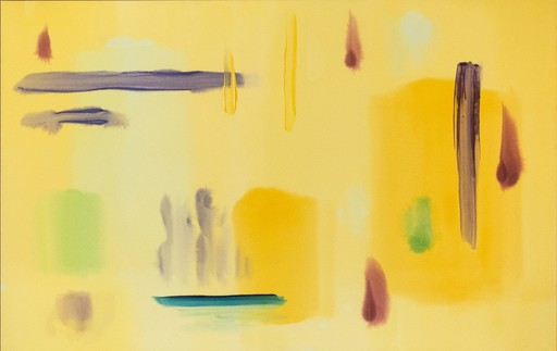 Milly RISTVEDT - Painting - Sizzle Yellow