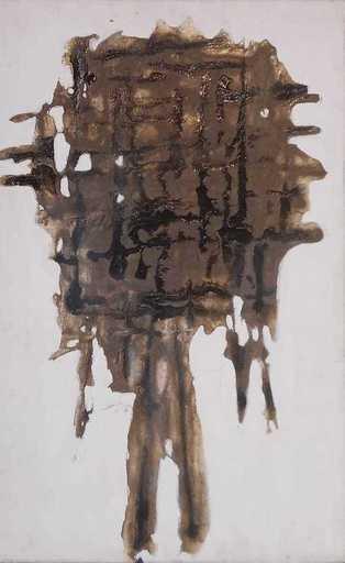 Achille PERILLI - Pintura - IL CORPO DEL SANTO