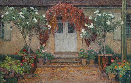 亨利•马丁 - 绘画 - Automne, L'entrée principale de Marquayrol