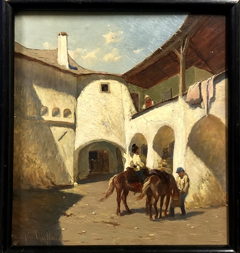 Johann Gualbert RAFFALT - Pintura - Untitled
