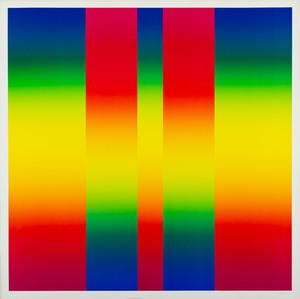 Getulio ALVIANI - Grabado - Spectrological colors