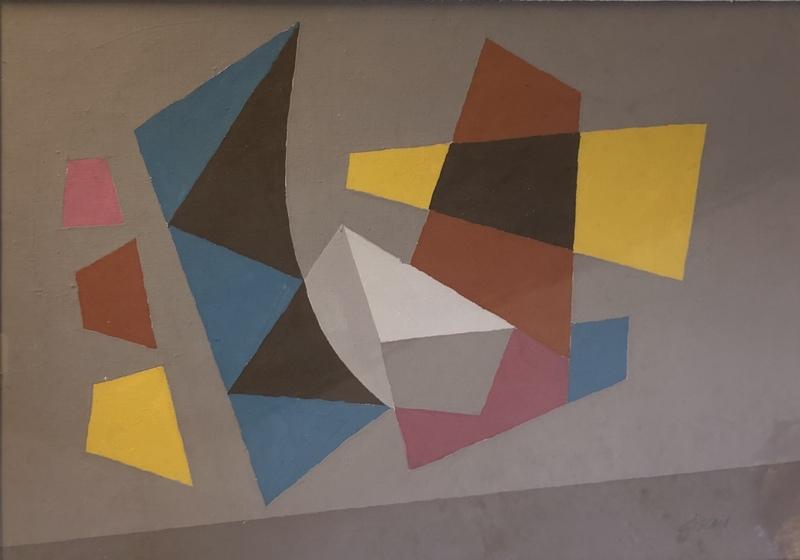 Léon GISCHIA - Painting - Untitled