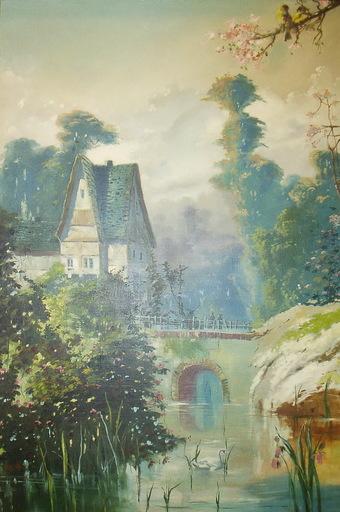Antonio JASPE Y MOSCOSO - Pintura - paisaje