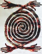 Barthélémy TOGUO - Dessin-Aquarelle - PURIFICATION XXI