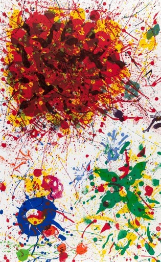 Sam FRANCIS - Estampe-Multiple - Untitled SF14431