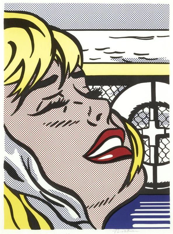 Roy LICHTENSTEIN - Stampa-Multiplo - Shipboard Girl