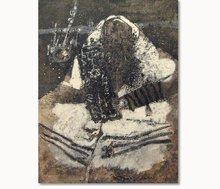 Théo TOBIASSE - Painting - Vous sevez consoles sans Jerusalem (Rabbi)