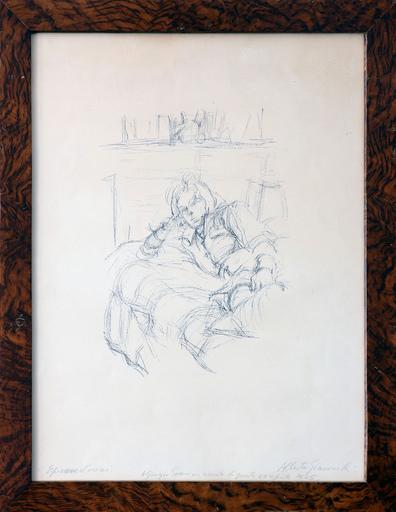 Alberto GIACOMETTI - Druckgrafik-Multiple - Buste II