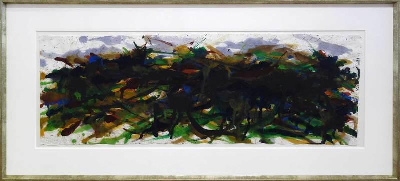 Max UHLIG - Pintura - Grüne Landschaft
