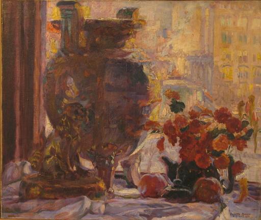 Pieretto BIANCO - Gemälde - Natura morta - NY