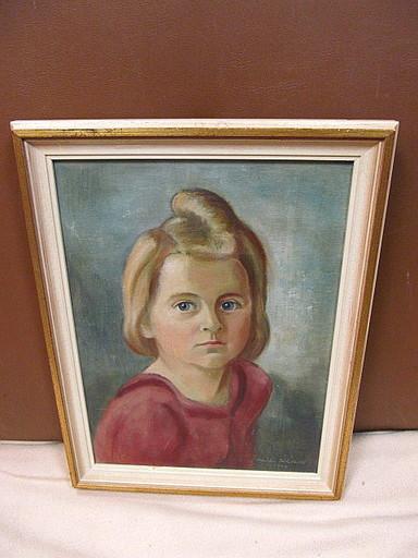 Walter KOHLHOFF - Pittura - Porträt eines jungen Mädchens