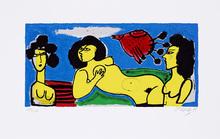 CORNEILLE - Print-Multiple - Paradise de femmes