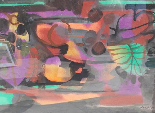 Luis Vidal MOLNÉ - Drawing-Watercolor - Nature morte