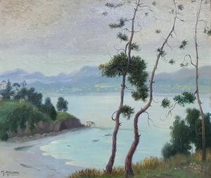 Manuel ABELENDA ZAPATA - Pintura - Paisaje Rias Bajas