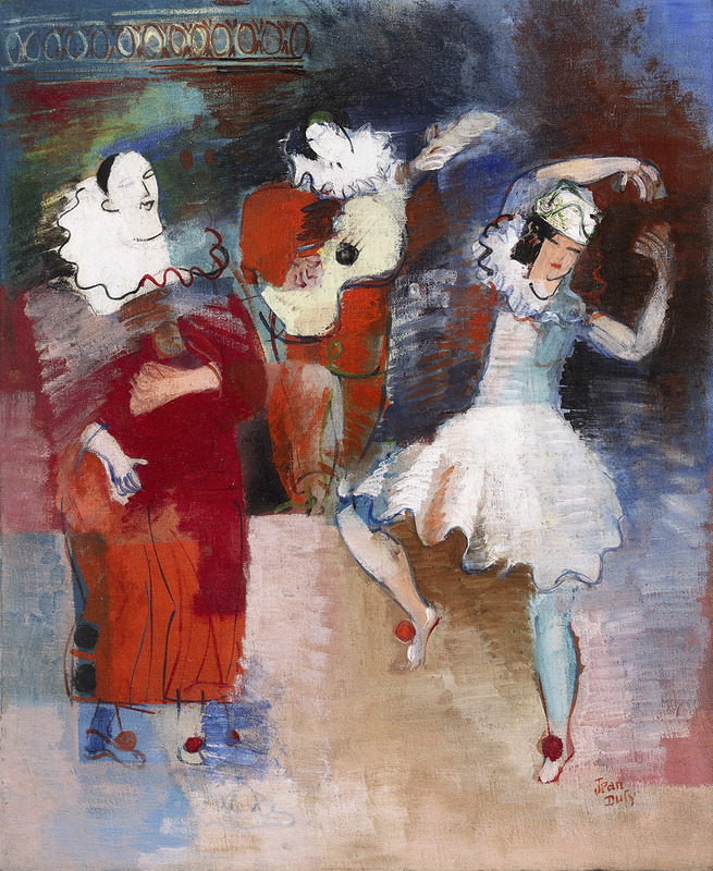 Jean DUFY - Pittura - Au cirque