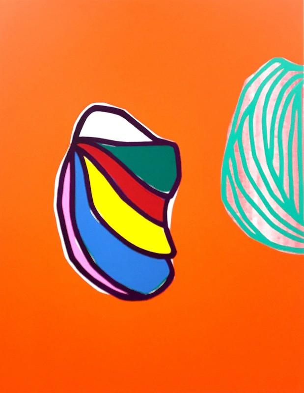 Soo-Kyoung LEE - Painting - M Orange