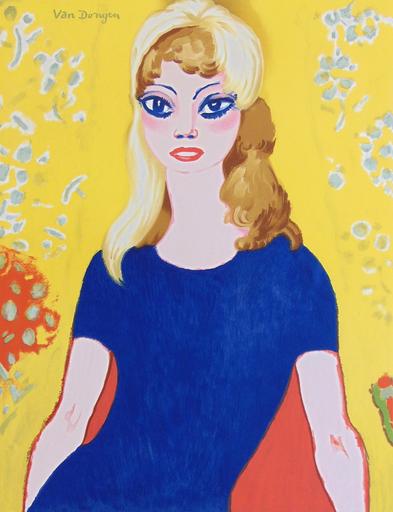 Kees VAN DONGEN - Estampe-Multiple - Brigitte Bardot