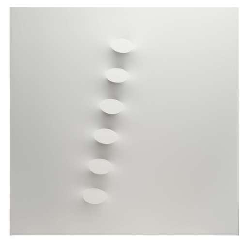 Turi SIMETI - Peinture - 6 ovali bianchi