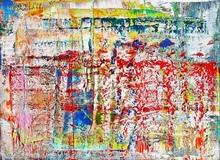 格哈德·里希特 - 照片 - Abstraktes Bild 1990