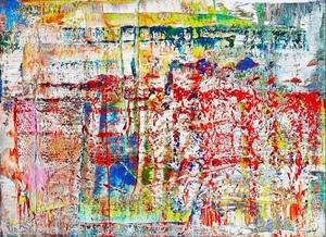 Gerhard RICHTER - Fotografia - Abstraktes Bild 1990