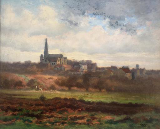 Louis Aimé JAPY - Painting - paysage