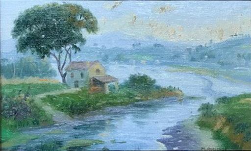 Manuel ABELENDA ZAPATA - Pintura - Atardecer